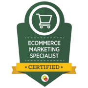Digital Marketer – Ecommerce Marketing Specialist Badge