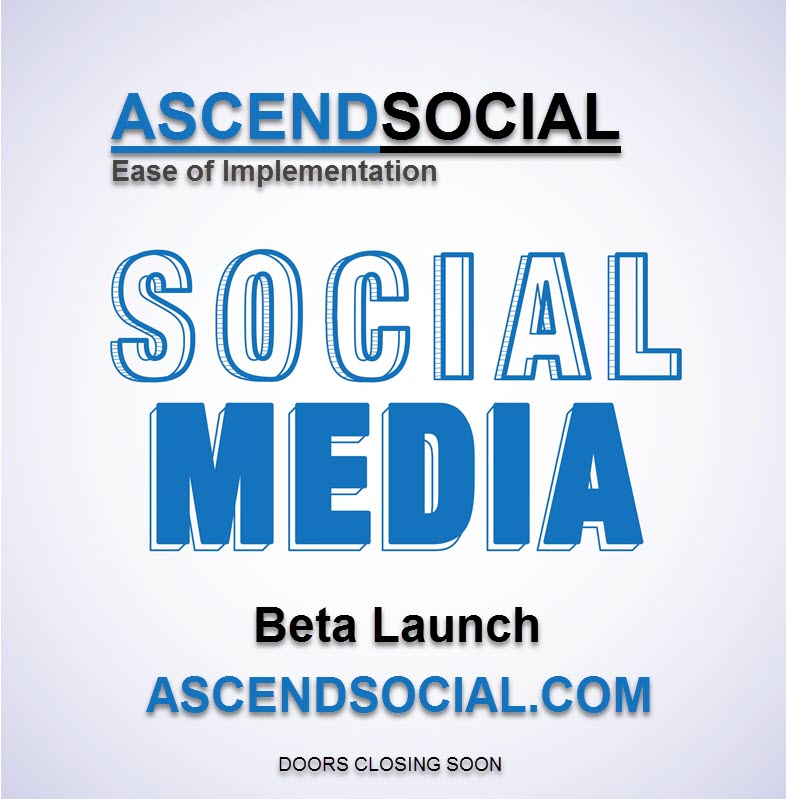 AscendSocial Beta Launch