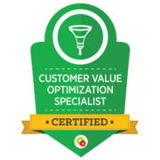 Digital Marketer – Customer Value Optimization Specialist Badge
