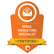 Digital Marketer – Email Marketing Specialist Badge