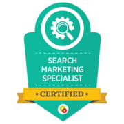 Digital Marketer – Search Marketing Specialist Badge