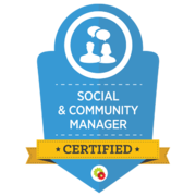 Digital Marketer – Social & Community Manager Badge
