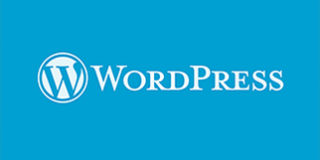 WordPress-logo-322x161