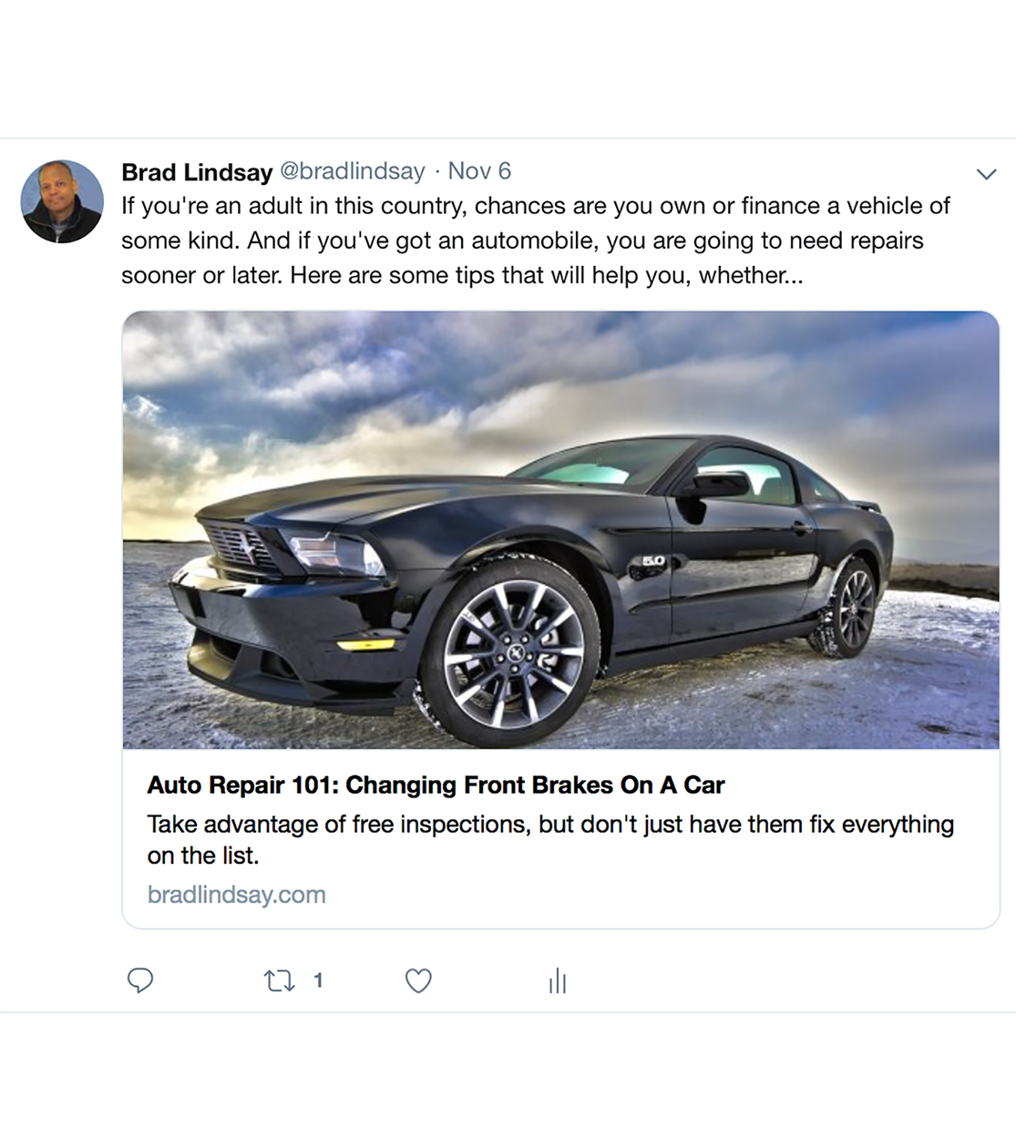 Twitter Branded Post